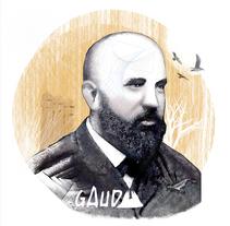 Antonio Gaudí y su magia. Un proyecto de Diseño, Ilustración, Bellas Artes y Diseño gráfico de nrfer1         - 27.01.2018