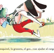 Herba de poniol. Un proyecto de Ilustración y Bellas Artes de aluka         - 02.02.2018