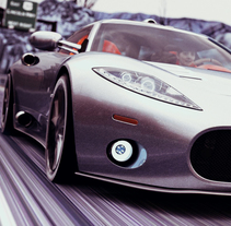 SPYKER ALERON. A 3D project by Ro Bot         - 02.02.2018