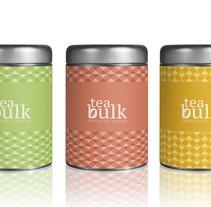 Brand tea bulk. Um projeto de Design, Br, ing e Identidade e Packaging de Anastasia Makarevich         - 03.02.2018
