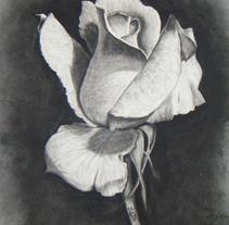 Blanco y negro. Trabajos de 4-6 horas. . A Fine Art project by Judith Solvez Vilamala         - 10.05.2015