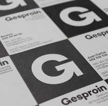 Gesproin. A Graphic Design project by Nicanor Fernández Fernández - 12-02-2018