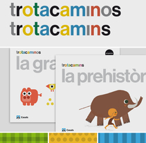 Trotacaminos / Trotacamins. A Illustration, Editorial Design, T, and pograph project by Enric Jardí         - 13.02.2018