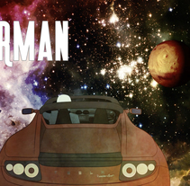 Starman. A Animation, and Video project by Jose A. Pérez         - 21.02.2018