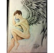Sleeping Angel. Un proyecto de Ilustración y Bellas Artes de Daniel Moguel del Río         - 21.02.2018