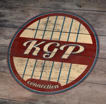 """DISEÑO LOGOTIPO MUSICAL """"KGP Connection"""". . Un proyecto de Diseño gráfico de Edgar Tomás Pagan         - 16.02.2017"""