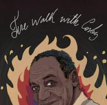 "Retrato de Bill Cosby en ""La Logia Negra"". A Illustration project by ʝ. NEZNA         - 01.03.2018"
