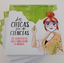 Las Chicas son de Ciencias. A Illustration project by Núria Aparicio Marcos         - 06.03.2018