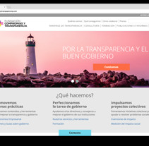 Fundación Compromiso y Transparencia. A Design, UI / UX, Web Design, and Web Development project by César Martín Ibáñez         - 06.03.2018
