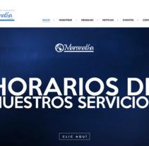 Desarrollo sitio Web  Iglesia Maranatha. Um projeto de Informática e Desenvolvimento Web de Carlos Reyes Ynojosa         - 15.07.2013
