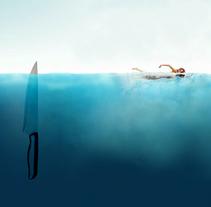 Jaws (Tiburón). Un proyecto de Ilustración de Junio Hazar         - 09.03.2018