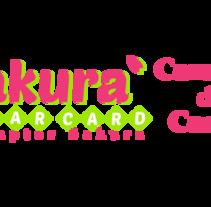 Logo: CardCaptor Sakura Clear Card. Un proyecto de Diseño, Cine, vídeo, televisión, Diseño gráfico y Caligrafía de Raquel Urda         - 11.03.2018