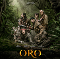Oro VFX. A Film, Video, TV, 3D, Post-Production, and VFX project by Ramon Cervera         - 17.03.2018
