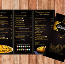 Menú Restaurante El Encuentro. A Photograph, Editorial Design, and Graphic Design project by Jose Nieto Villalba         - 10.01.2018