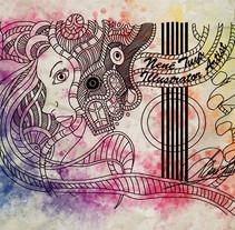 Digital Art (Watercolors). Um projeto de Design, Ilustração, Cinema, Vídeo e TV e Design gráfico de nenetuya         - 23.03.2018