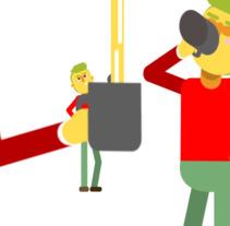 Mi Proyecto del curso: Animación y diseño de personajes en After Effects. A Animation, Character Design, Character animation, and Vector illustration project by manologv         - 27.03.2018