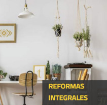 Domo Gestión - Reformas integrales. A Information Architecture, Interior Architecture, Cop, and writing project by Begoña Vilas         - 05.04.2018