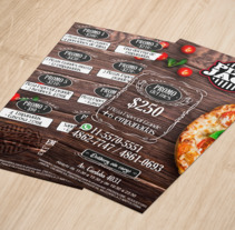 Flyer Pizza Jack. A Graphic Design project by David Eduardo Rodriguez Lema         - 14.08.2017