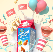 Almond Breeze. A Advertising, 3D, and Animation project by JVG         - 23.04.2018