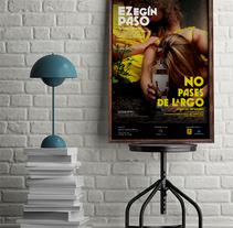 Ez egin paso. No pases de largo. Um projeto de Design gráfico e Design de cartaz de aidearte         - 07.09.2017